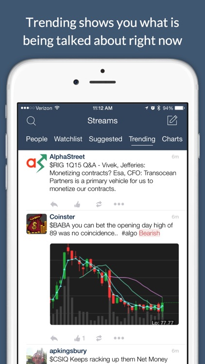 StockTwits - Stock Market Chat screenshot-3