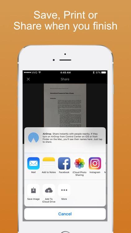 iPloDev Scanner -  PDF + OCR screenshot-4
