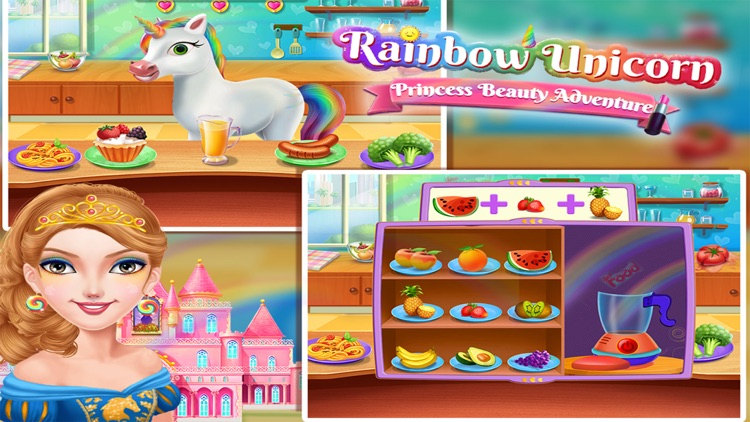 Rainbow Unicorn Princess screenshot-3