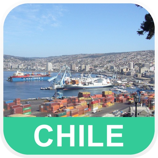 Chile Offline Map - PLACE STARS