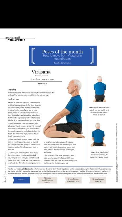 Yoga Journal Singapore Magazine screenshot-3