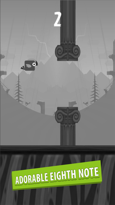 Eighth Note Voice! Flapping Bird Version! screenshot two