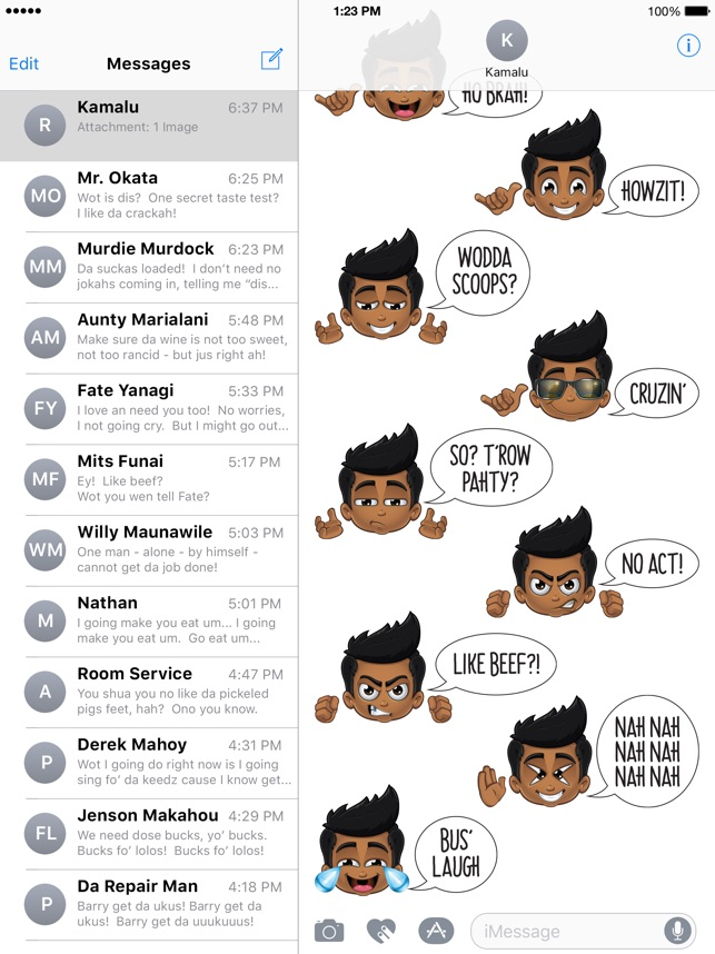 Animated Pidginmoji - Stickers Screenshot