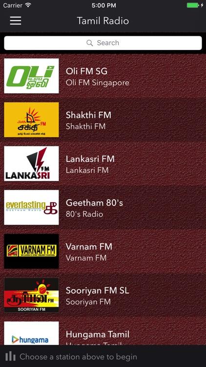 Tamil vaanoli  Streaming FM Radio