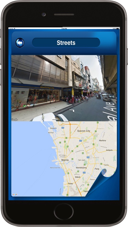 Manila Philippines - Offline Maps Navigator screenshot-2