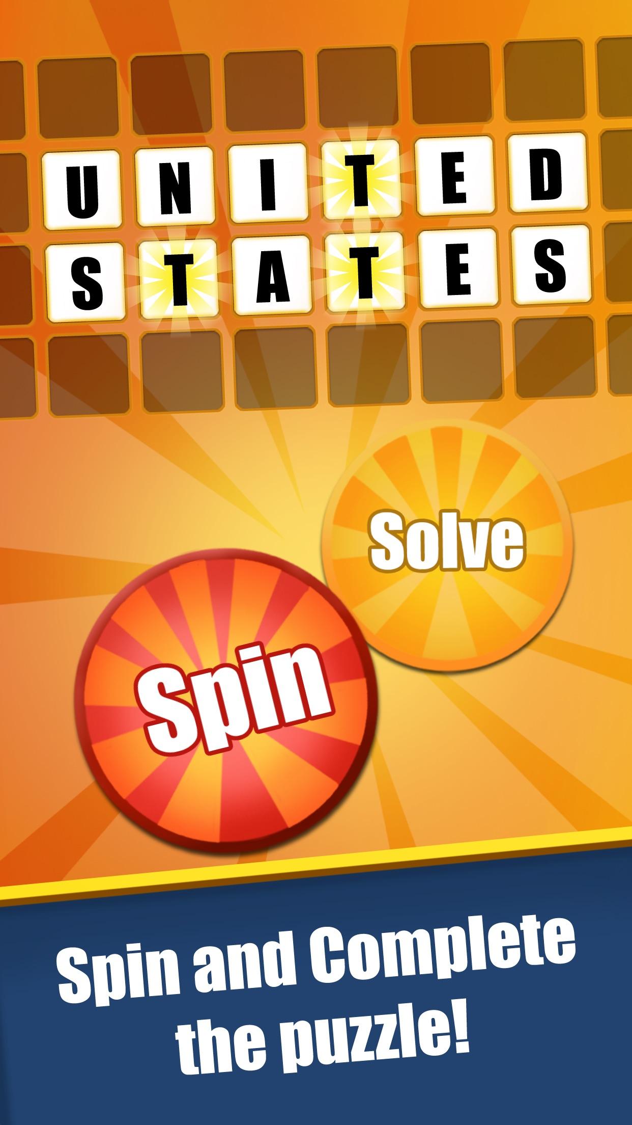 Amazing Wheel-Word & Phrase Quiz for Fortune Wheel Screenshot
