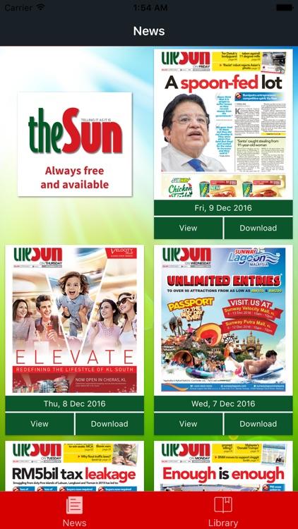 The Sun ePaper