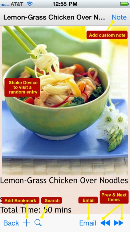 300 Noodle Recipes screenshot-4