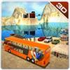オフロード公共交通機関バス&3Dドライバーシミュレーター
