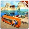 Offroad public transport bus & 3d driver simulator
