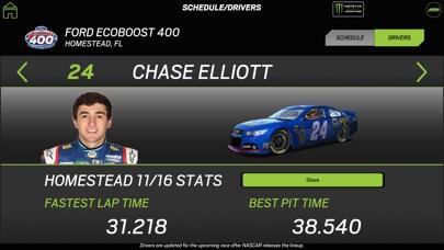 NASCAR RACEVIEW MOBILE app image