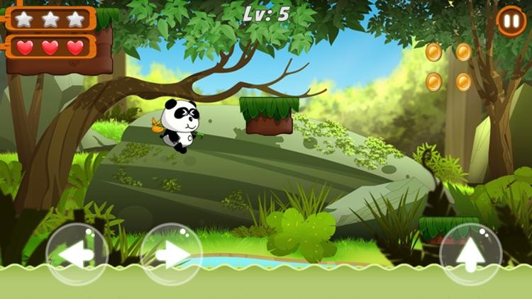 Panda Run - Jungle Adventure screenshot-3