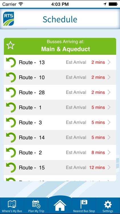 RTS Bus App screenshot-3
