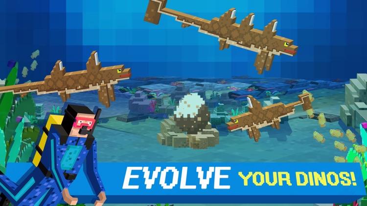 Sea Jurassic Craft - Dino & Shark Tiny World games screenshot-4