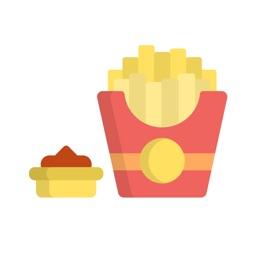 FoodMoji - Delicious Dinner Stickers