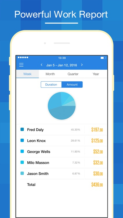 Hours Keeper Pro - Timesheet, Tracking & Billing screenshot-3