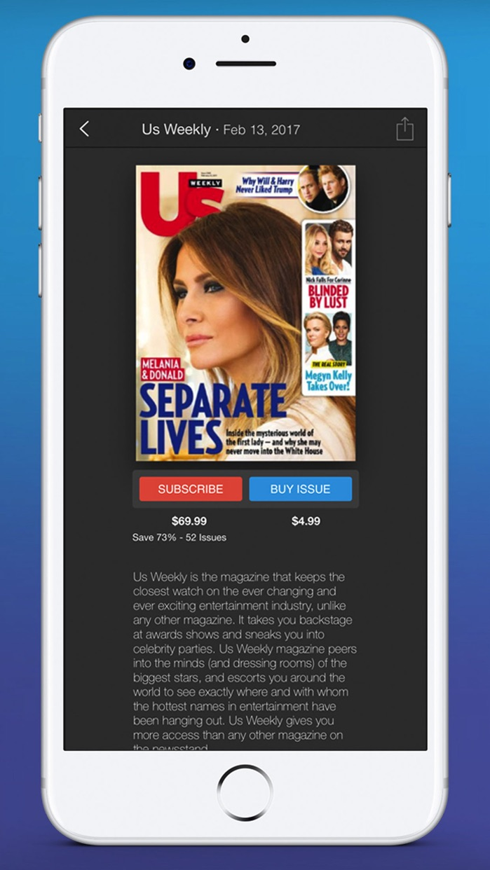 Zinio - The World's Magazine Newsstand Screenshot