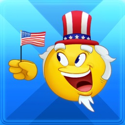 USA Sam-oji – American emoji keyboard icons