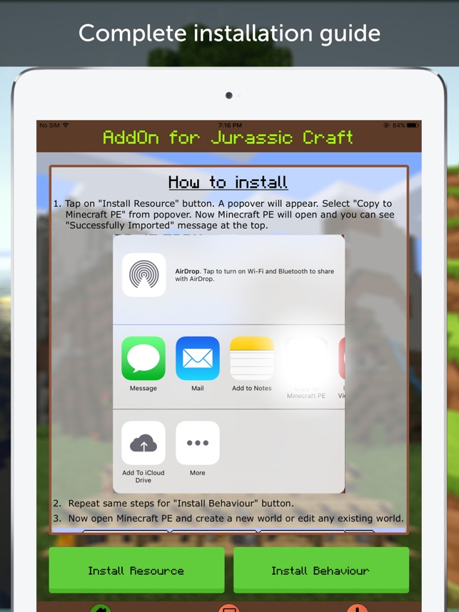 Helicopter AddOn for MCPE on the App Store