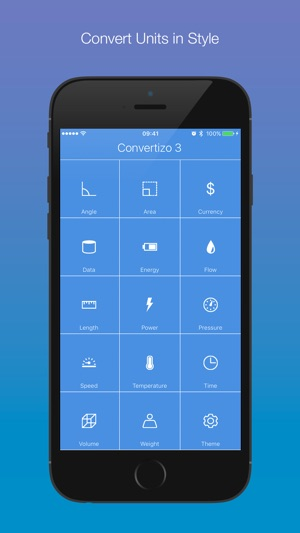 Convertizo 3 - Convert Units and Currency in Style Screenshot