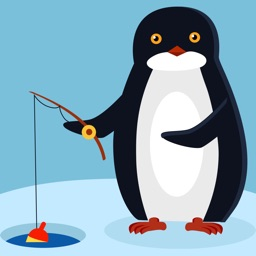 Penguin fishing games - fisherman funny game free