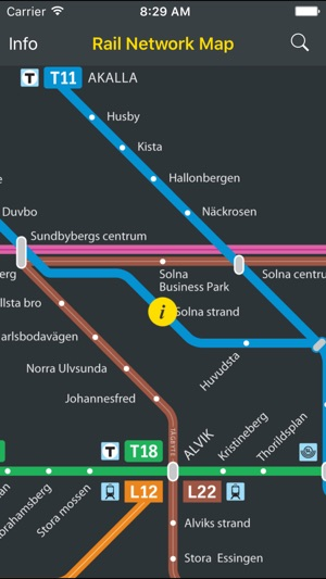 Transit Map Stockholm SL on the App Store