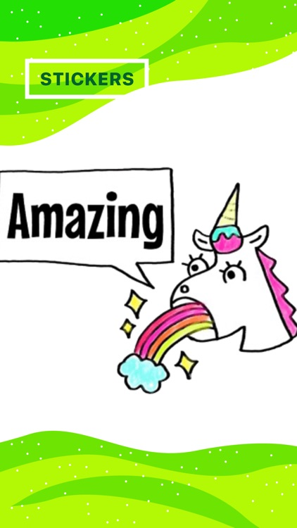 Pony Sticker - unicorn stickers for iMessage