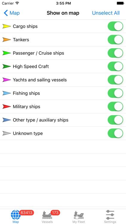 VesselFinder Lite screenshot-3