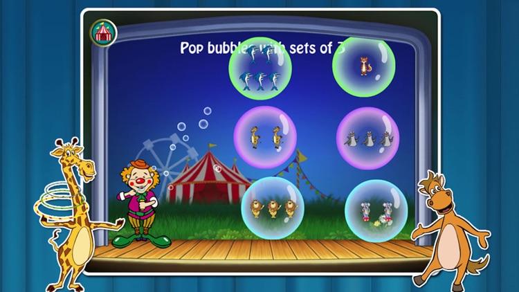 Animal Circus- Toddler Learning Games Baby Kids screenshot-4