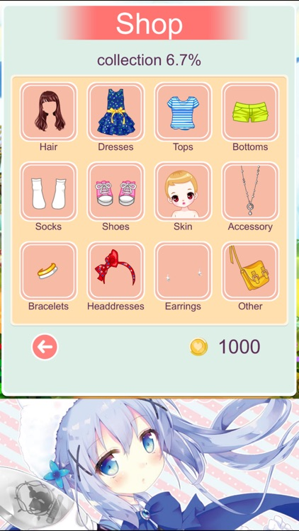 Spring Fashion Girl Dressup Salon screenshot-4