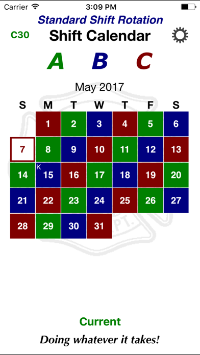 Shift Calendar review screenshots