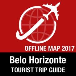 Belo Horizonte Tourist Guide Offline Map on the App Store