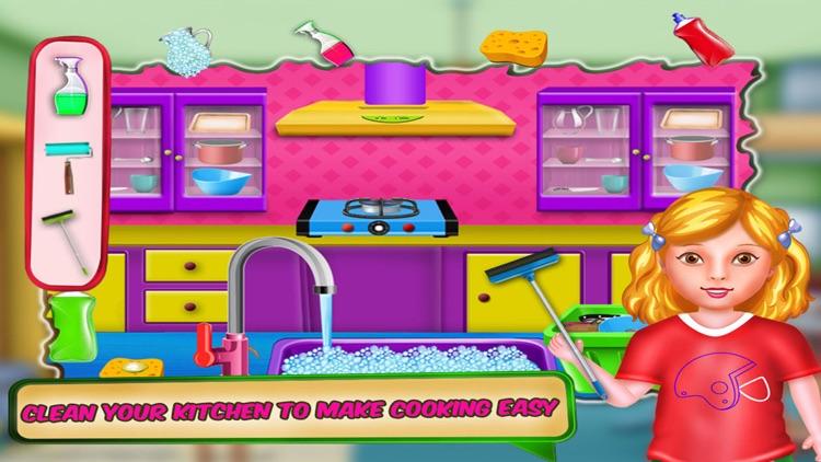 Kids House Cleaning Games screenshot-3