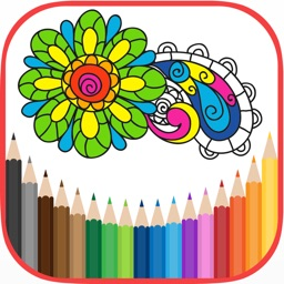 Coloring Book for Adults HoliColoring anti-stress
