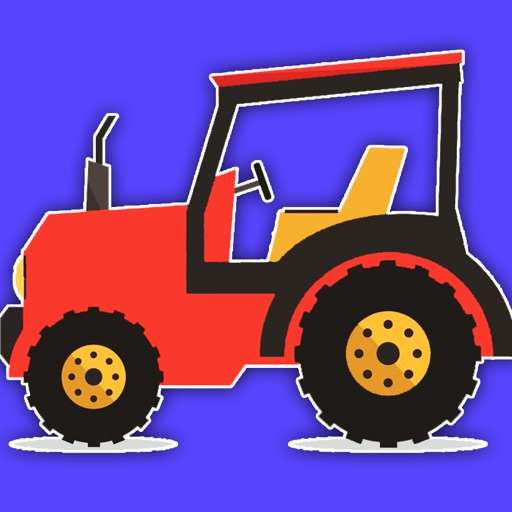 Monster Tractor Games Coloring Book For Kids app logo