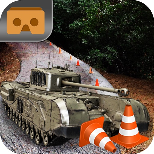 VR Military Tank Parking Driver Army Truck Driving