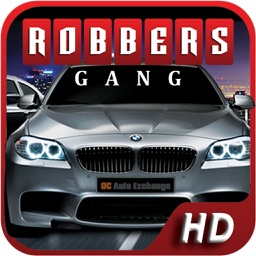 Bank Robbery Gang : Escape Police Car Chasing