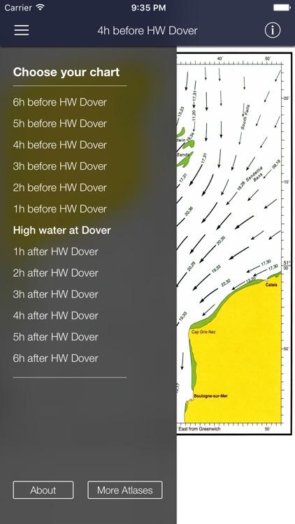 Tidal Stream Atlas, Dover Strait