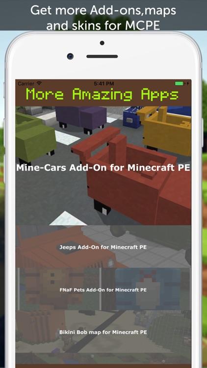 Sports Cars AddOn for Minecraft Pocket Edition screenshot-3