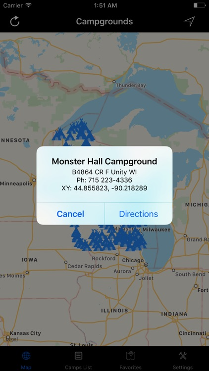 Wisconsin – Campgrounds & RV Parks