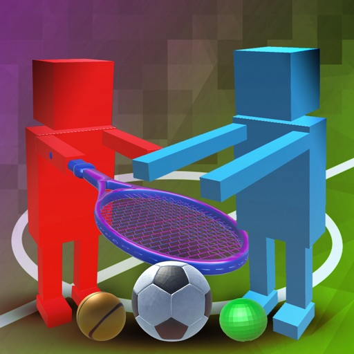 Block Cubic Party Sports Physics - Soccer & Tennis