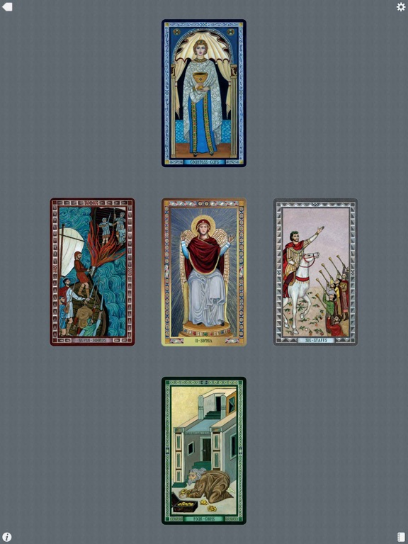 The Byzantine Tarot-ipad-4