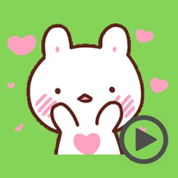 Sweetie Rabbit Love Animated