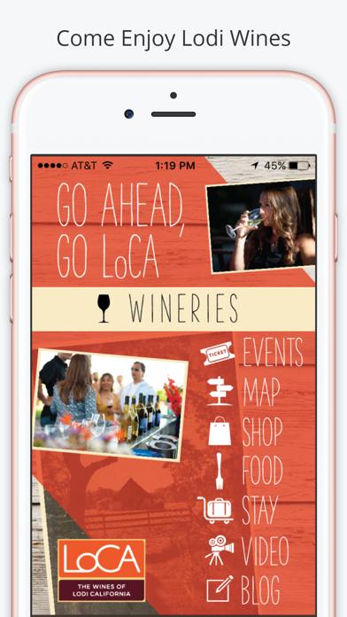 Lodi Wines Screenshot