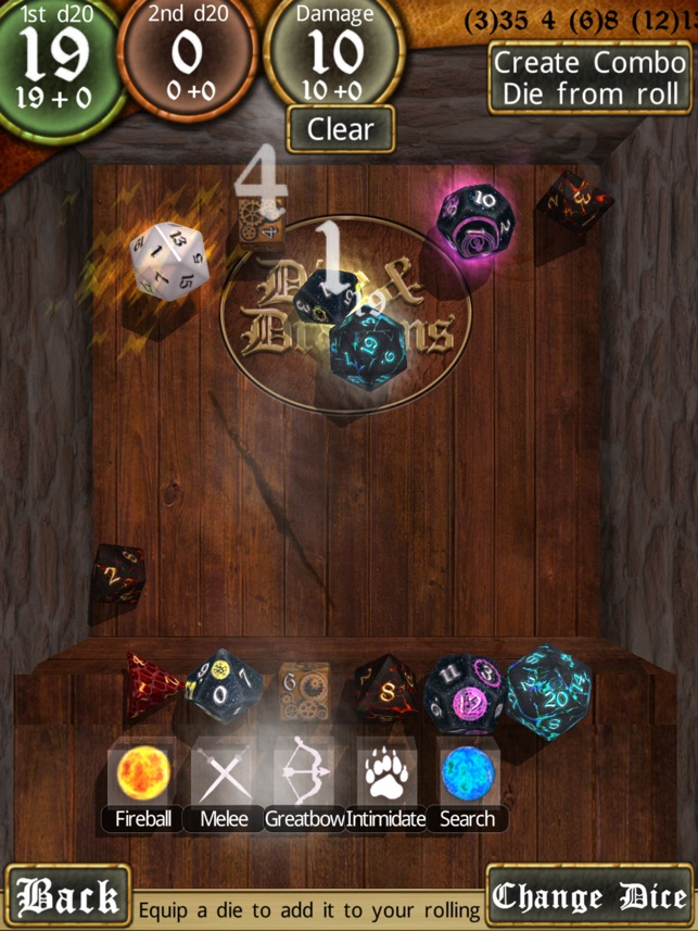 Dice Dragons Rpg Dice Roller On The App Store