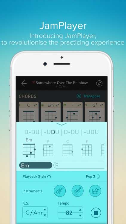 Ukulele Toolkit - Tools of Tuner and Chord for Uke screenshot-4