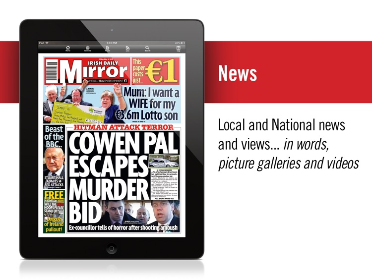 Irish Mirror iPad(Ireland)
