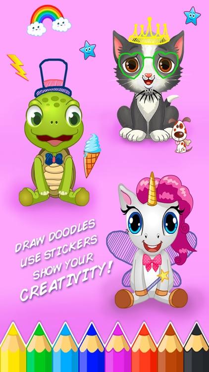 Jungle Animal Spa & Salon - for Kids Boys & Girls screenshot-3
