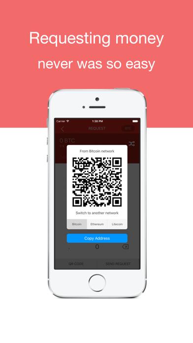 Beewallet: Coinbase Bitcoin & Ethereum wallet 3 1 pour iOS