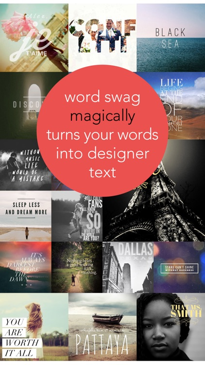 Word Swag - Cool fonts & typography generator screenshot-0